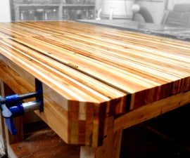 Pallet Wood Workbenches