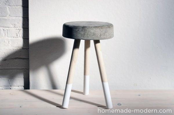 HomeMade Modern DIY $5 Bucket Stool