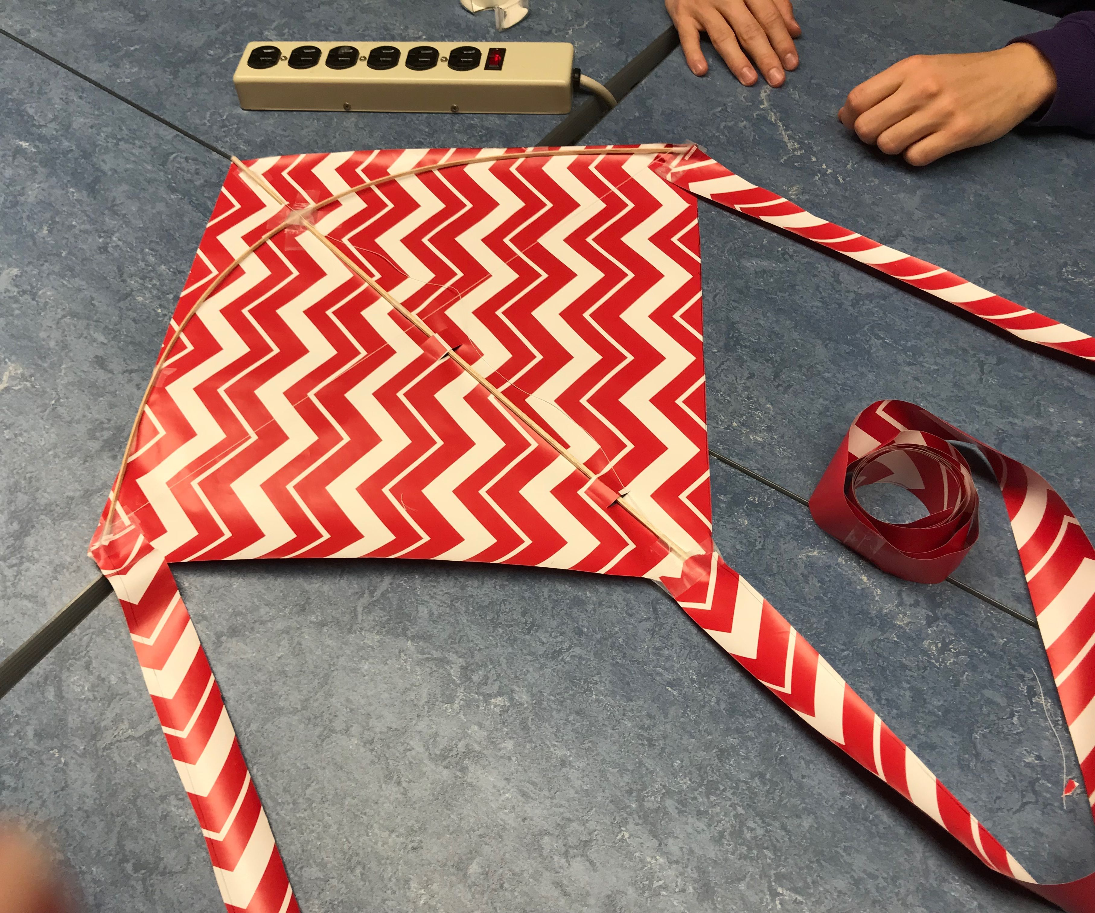 DIY Wrapping Paper Kite