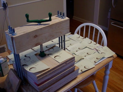 Build a Letterpress & Use It to Print Things