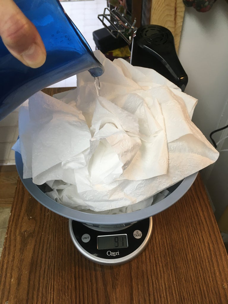 Make Paper Mache Clay With Gram Measurements