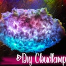 DIY Thundercloud lamp