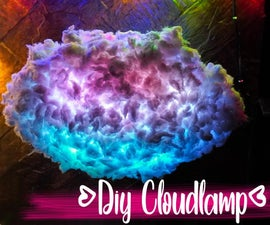 DIY Thundercloud Lamp