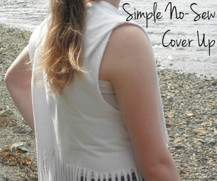 Simple No-Sew Cover Up