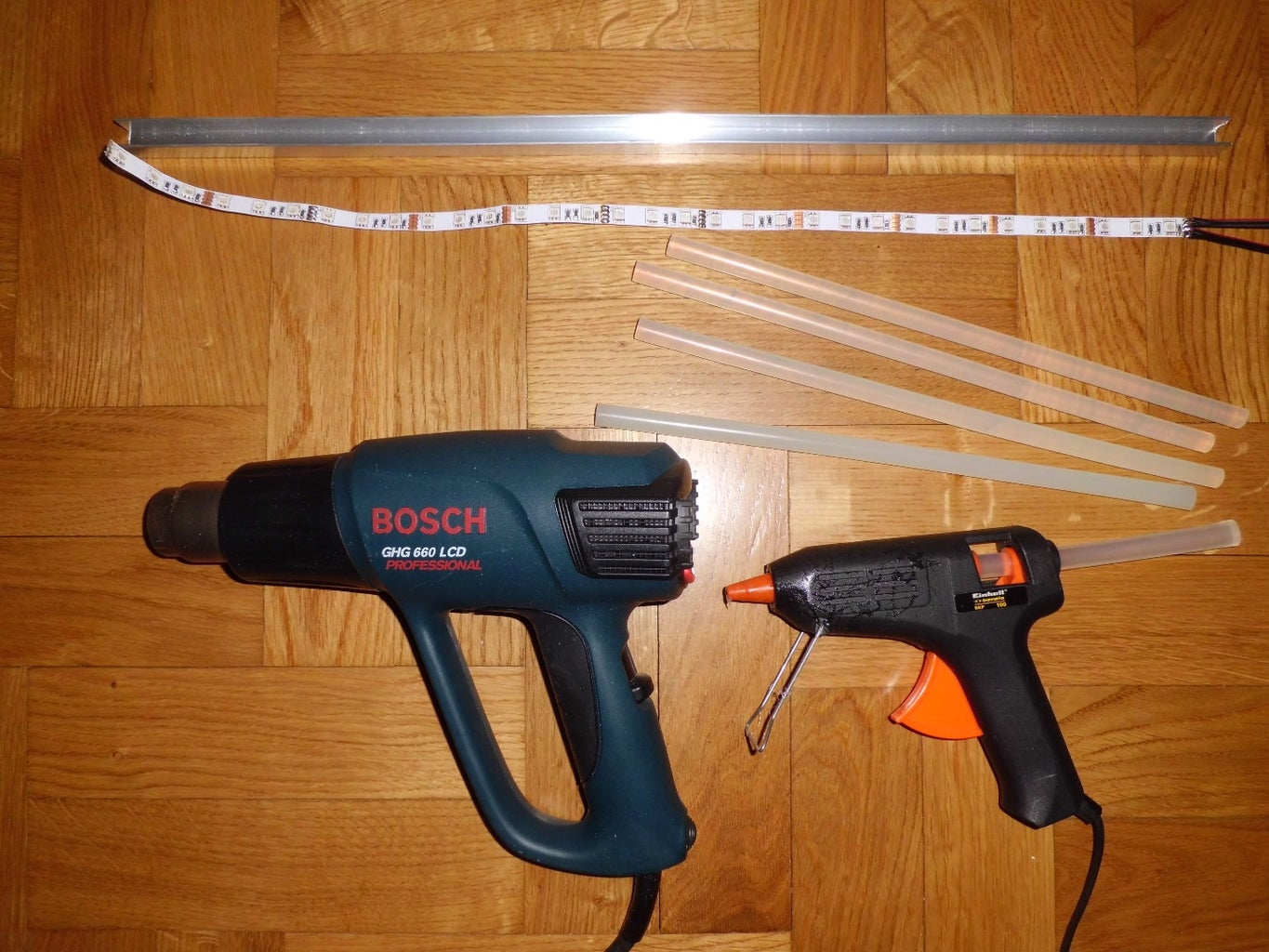 Parts and Tools Required