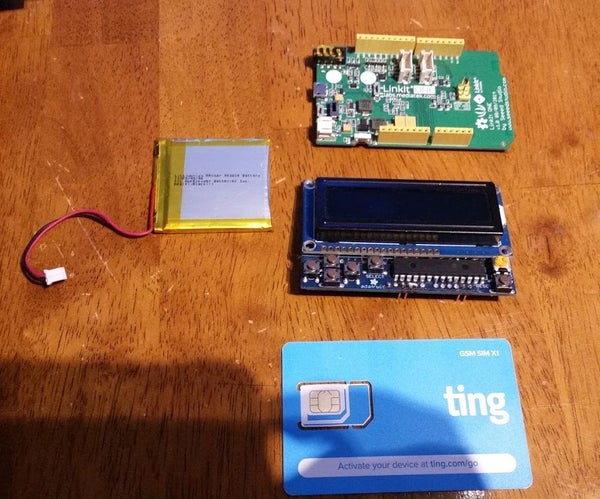 Mediatek LinkIT One Setting Up TING for GSM and GPRS
