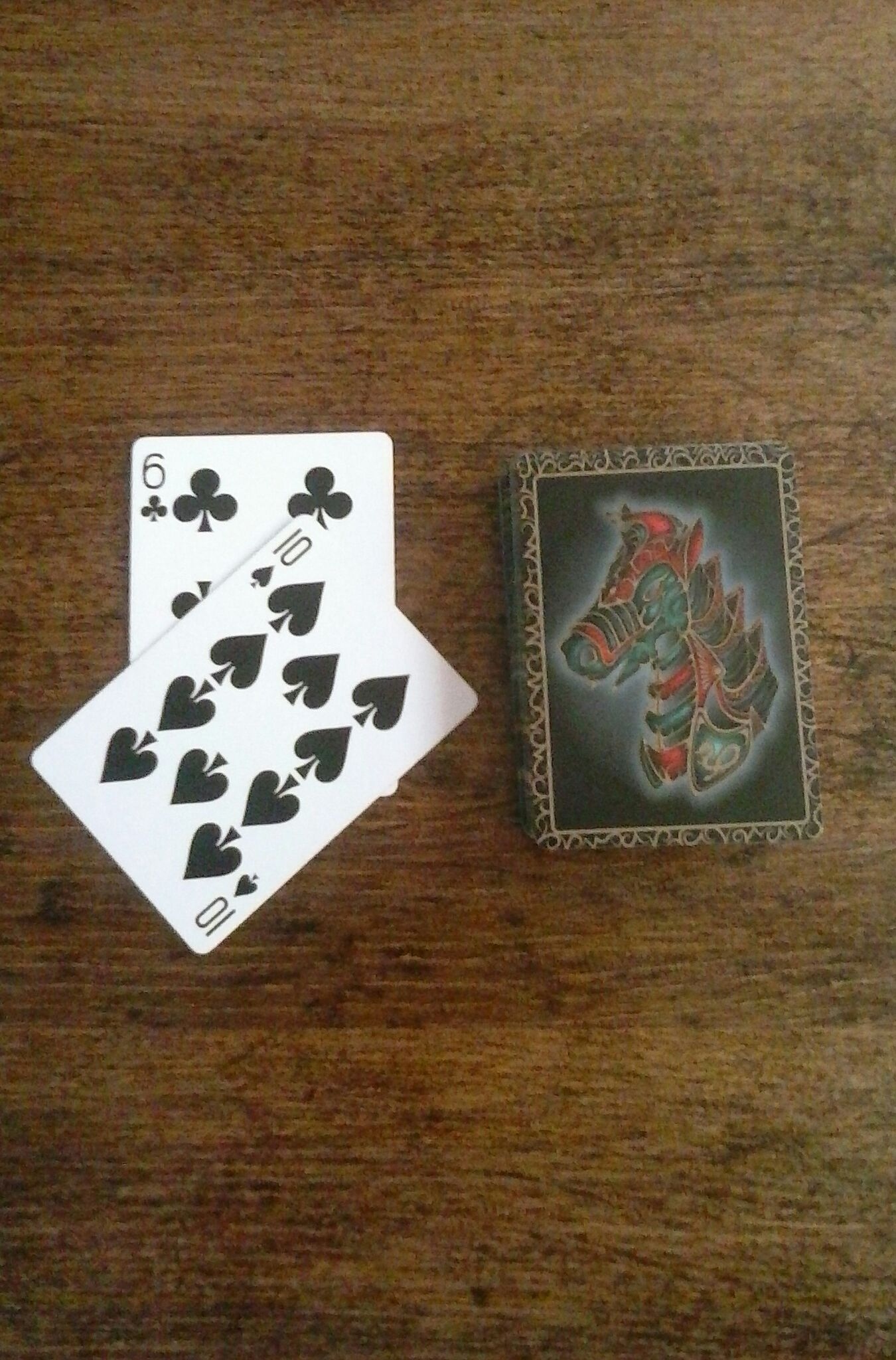 Andy Field's Two Card Location
