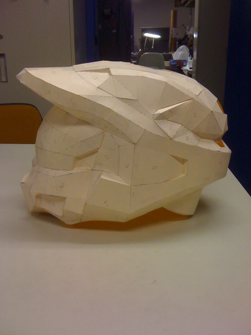 Helmet Construction.