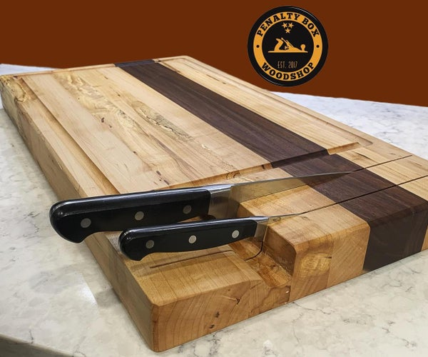 The Ultimate Cutting Board With Knife Storage