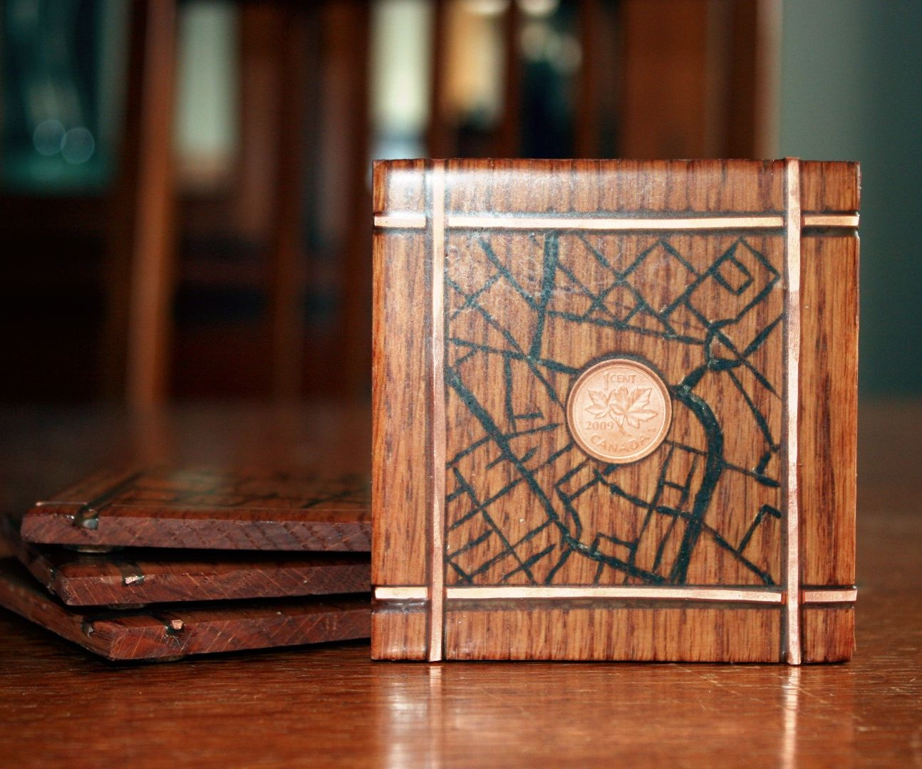 How to Make a Personalized Map Coaster