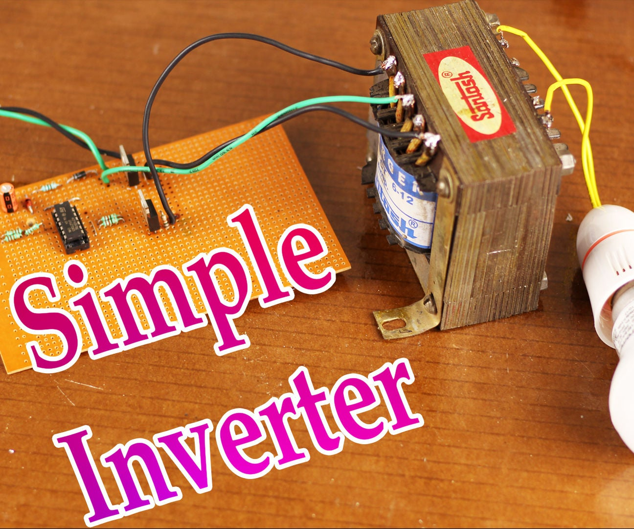 100w Inverter Circuit 8 Steps Instructables