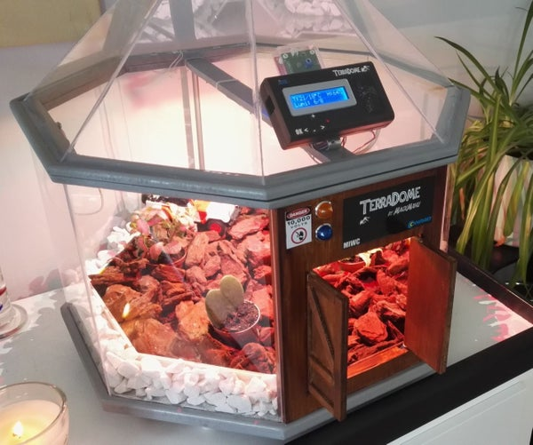TerraDome : Mini Tropical Greenhouse With Arduino
