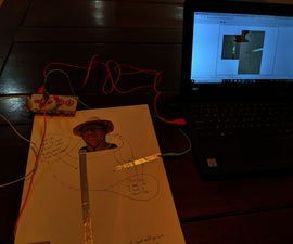 Makey Makey Sound Art Self Portrait