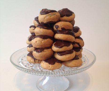 Chocolate Cream Puff Tower (Smash Cake Alternative)