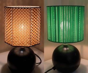 Infill Lampshades (3D Printed)