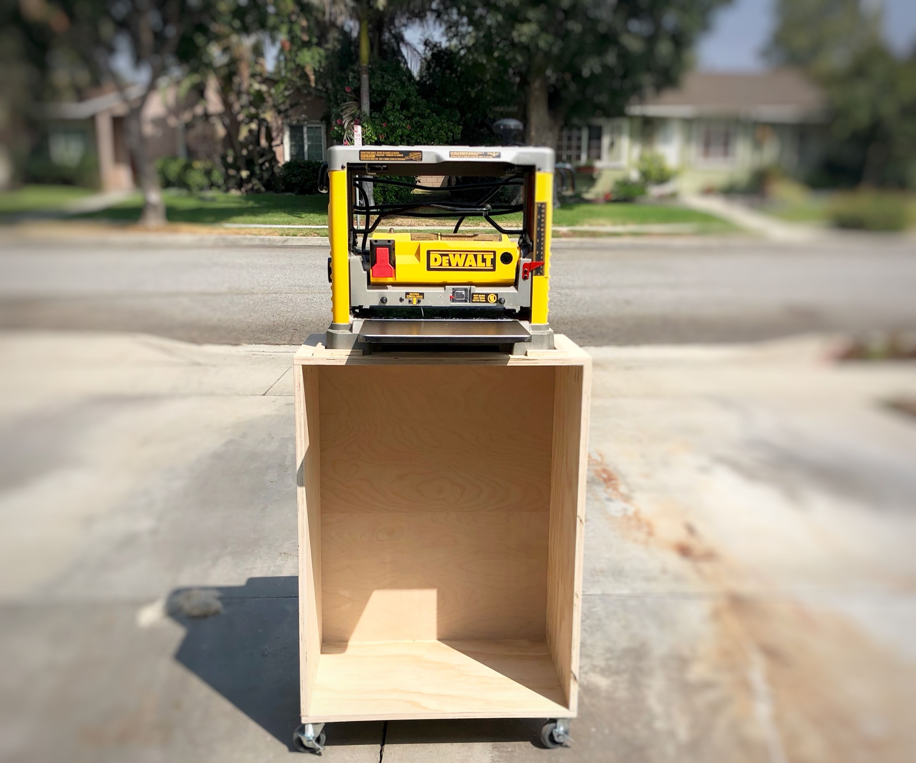 Mobile Planer Cart/Shop Stand