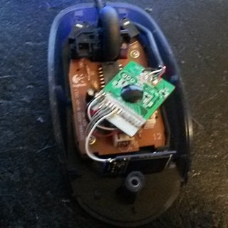 USB Mouse Flash Drive Hack