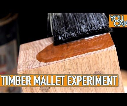 Wooden Mallet Using Dowels