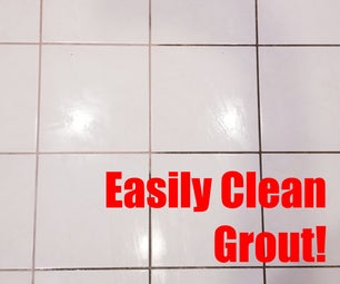 Easily Clean Grout!
