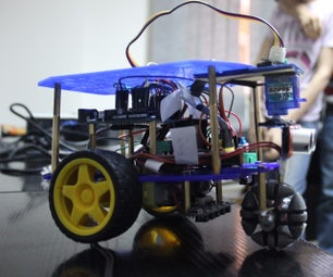 DIY Autonomous Line Tracking With Obstacle Avoiding Robot (Rover)