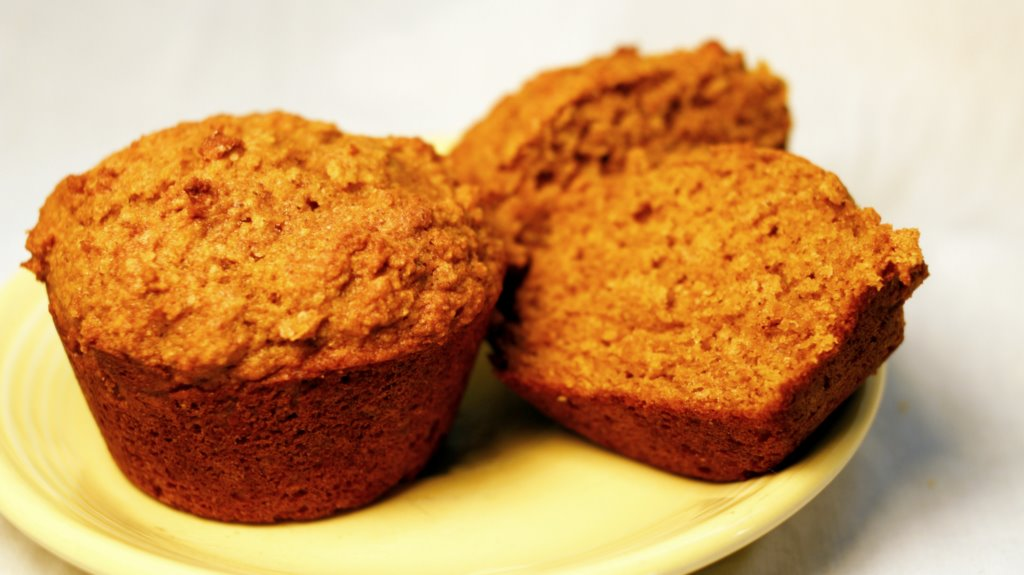 """""""Stealth Health"""" Pumpkin Muffins (egg-free, with a vegan version, too!)"""