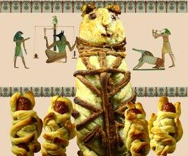 Mummified Cat and Kittens Pie (with Savoury Option)