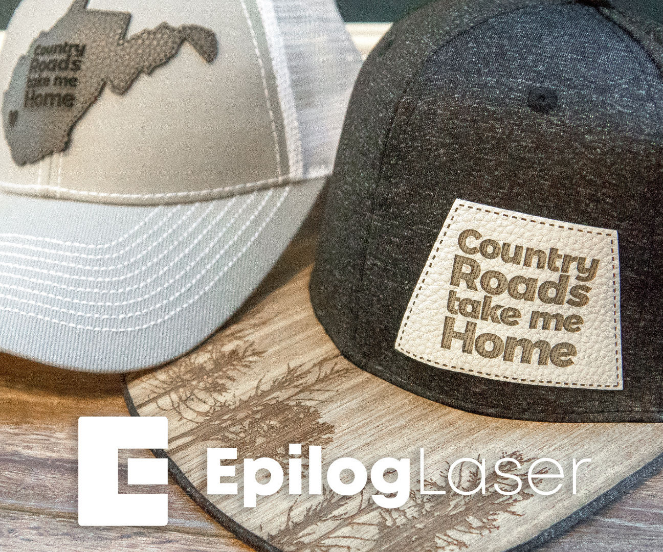 Laser Engraving Leather Hat Accessories