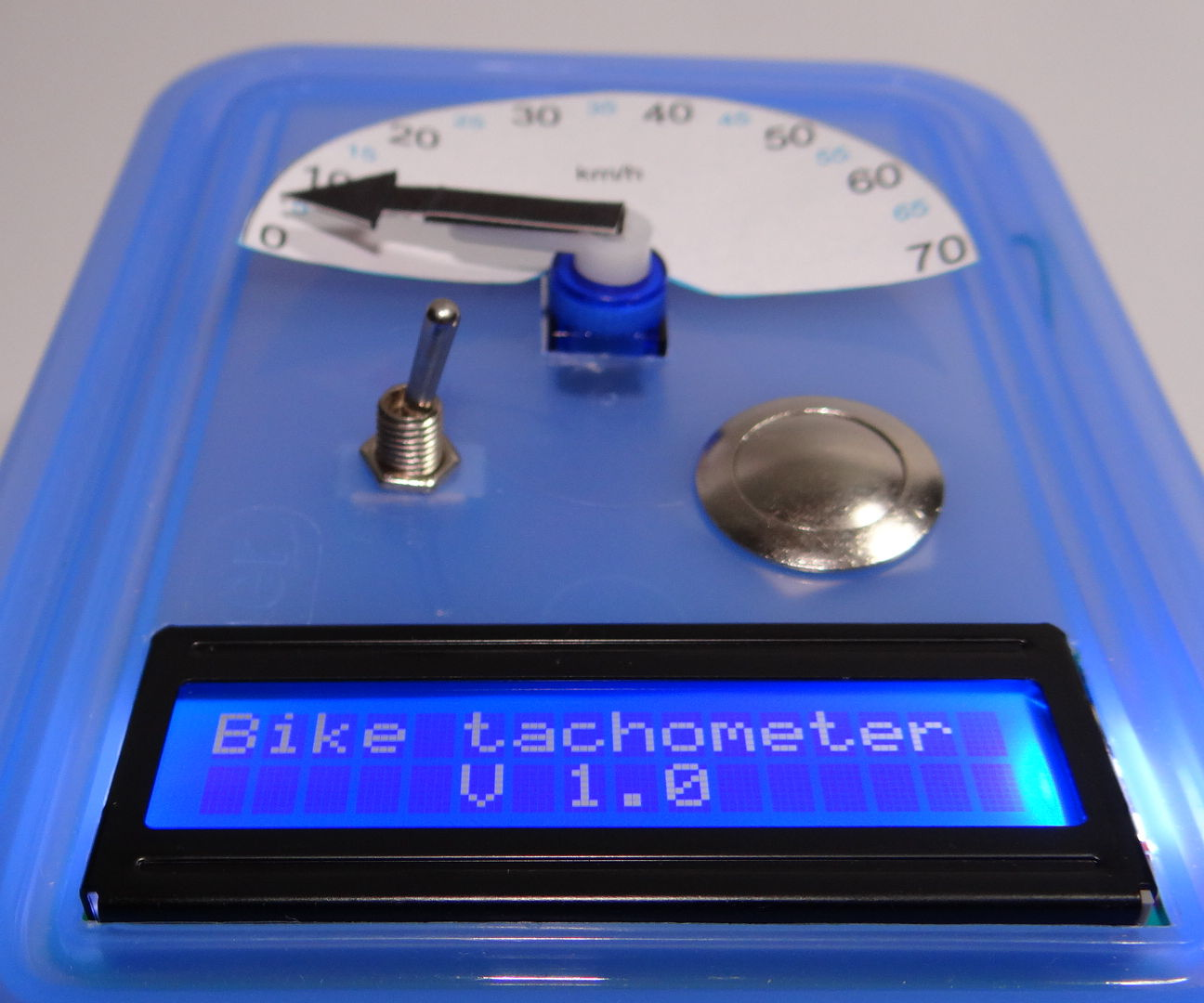 DIY bike tachometer