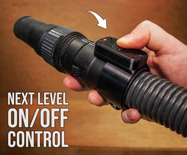 Next Level Shop-Vac ON/OFF Control