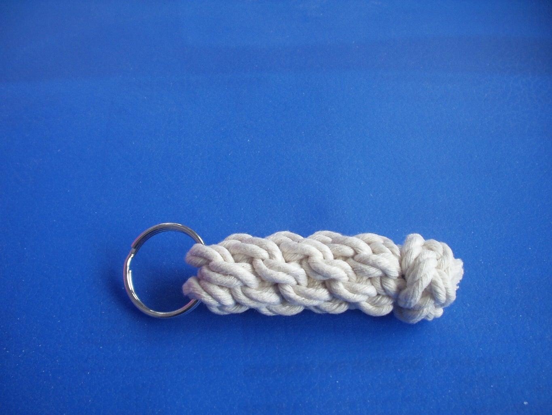 Locked Footrope/diamond Knot