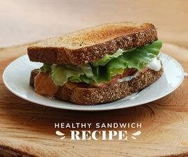 健康三明治食谱