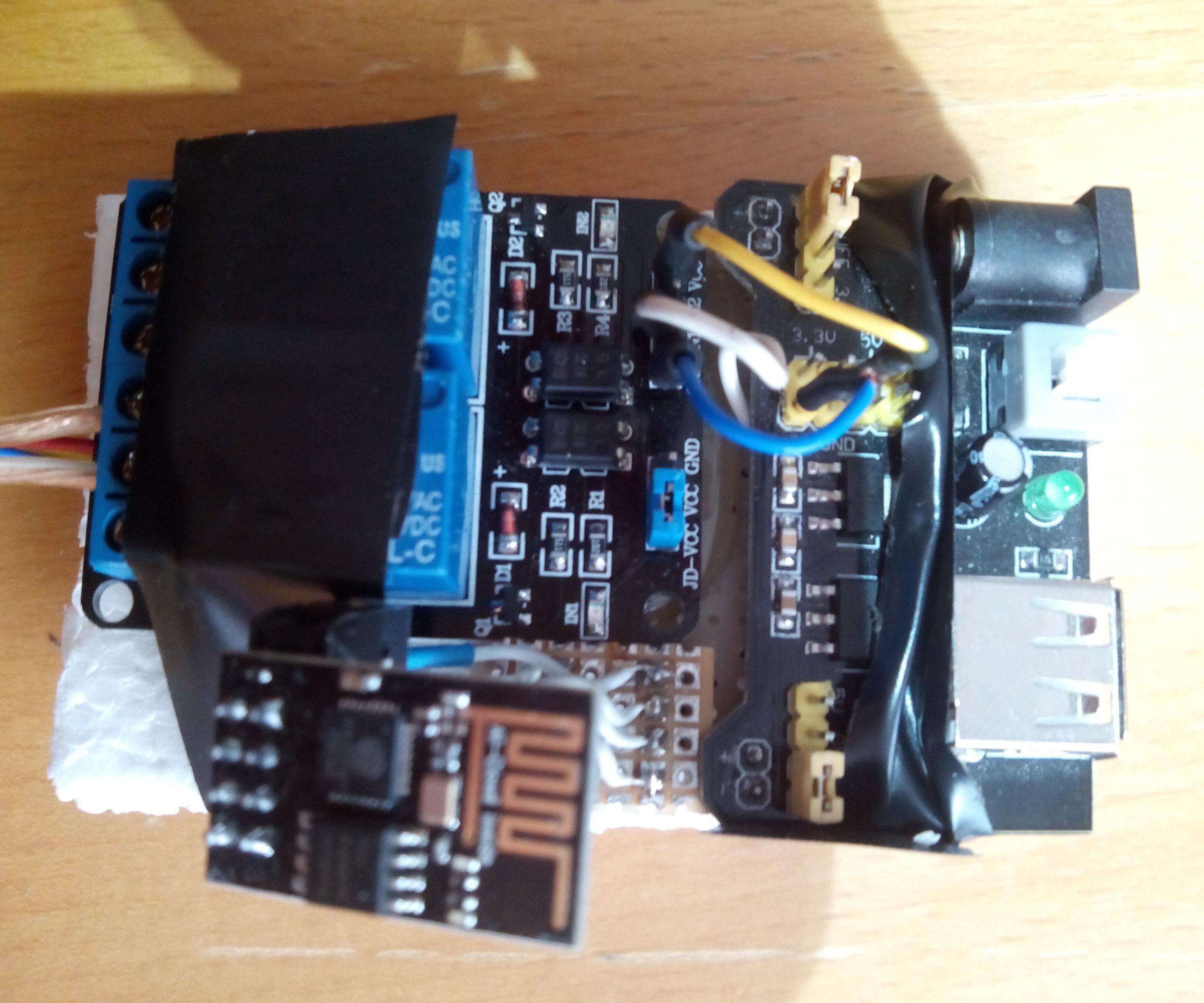 ESP8266 Wifi Thermostat for Freezer