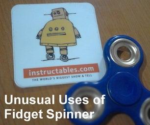 Unusual Uses of Fidget Spinner