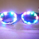 DIY Color Changing Light Up Party Glasses