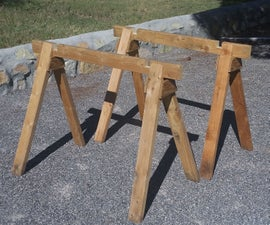 Cheap, Improved Sawhorses