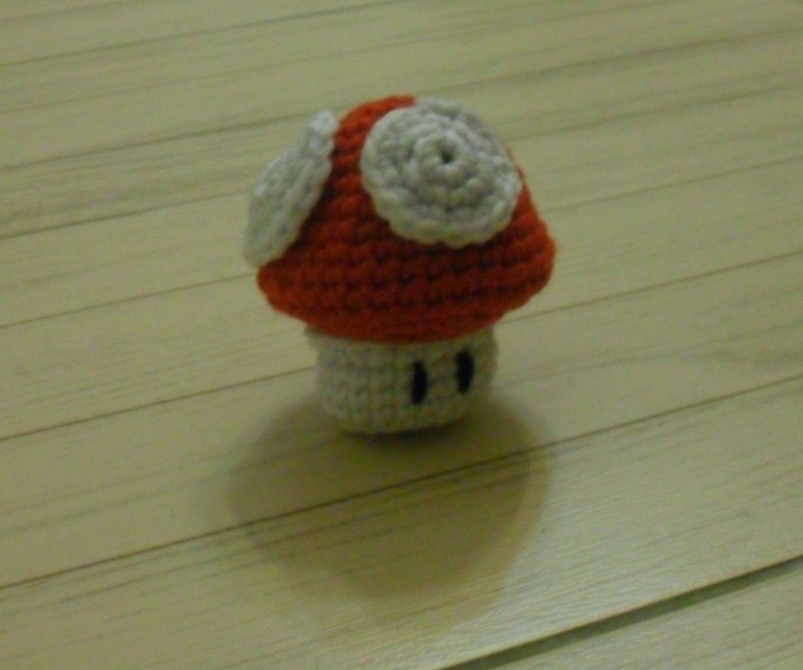 Mario Mushroom Crochet