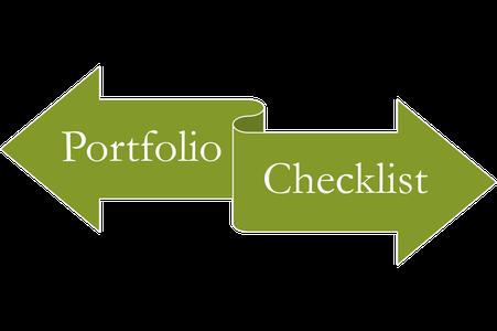 Portfolio Checklist