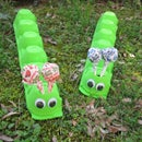Summer Crafts for Kids: Egg Carton Caterpillar