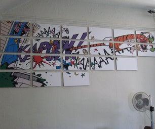 Magnetic Multi Panel Mural