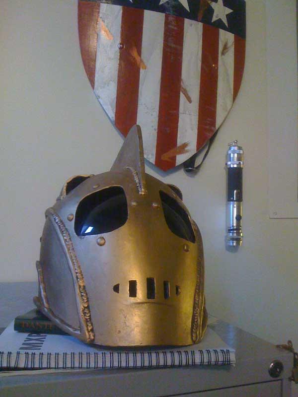 Pepakura Rocketeer Helmet