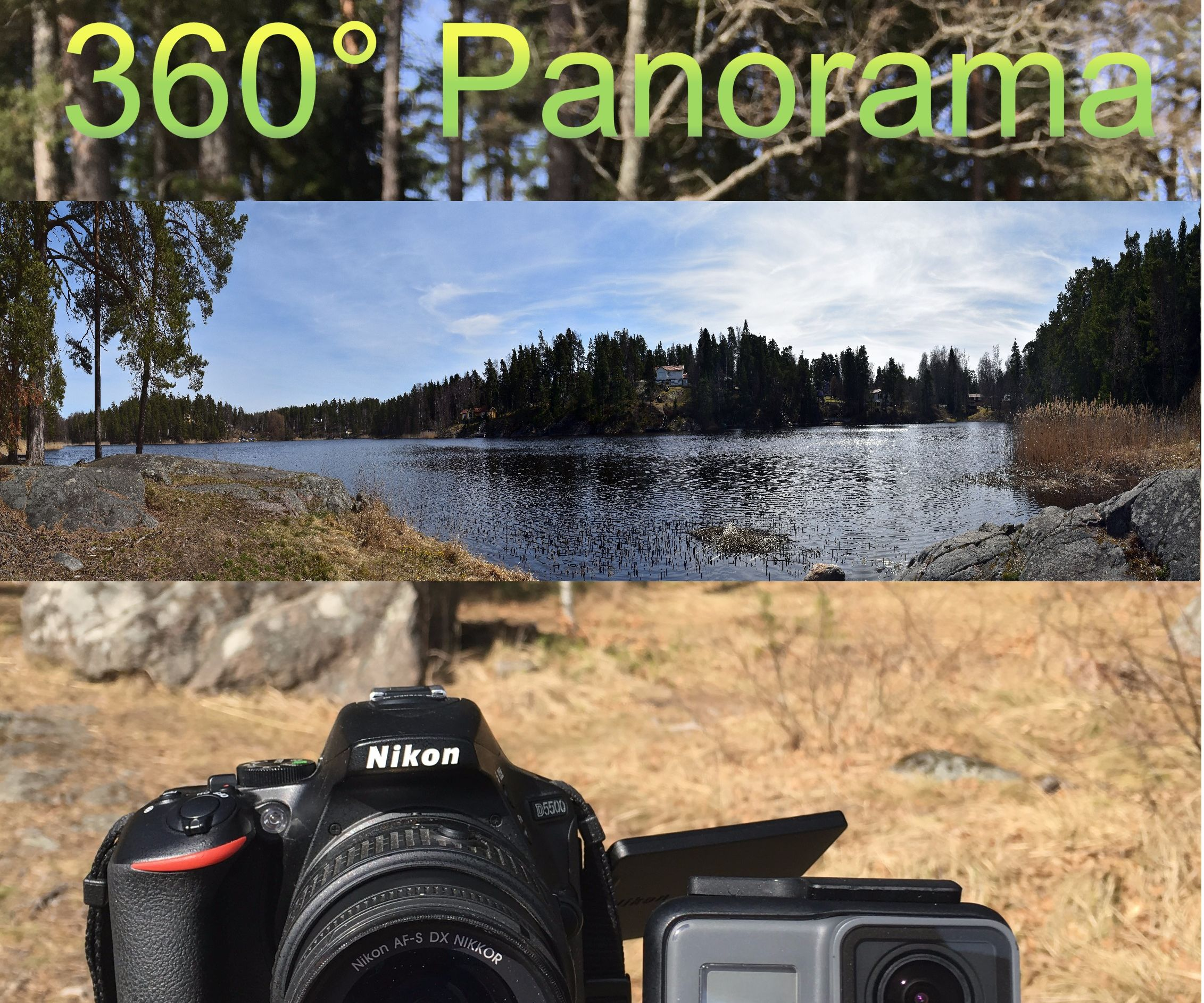 How to Make Panorama With a GoPro or DSLR
