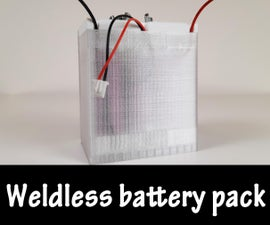 Weldless Lithium Battery Pack