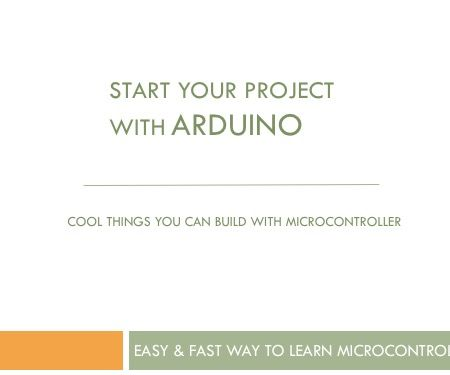 Quick Way to Learn Arduino Microcontroller