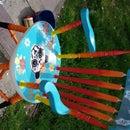 Sugar Skull Panda Chair