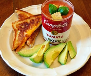 Hacked Grilled Cheese & Elevated Tomato Soup