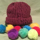 Knit Hat With a Loom