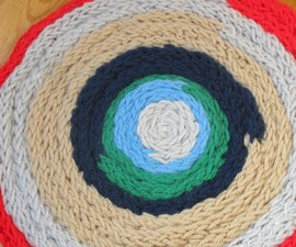 How to Make Your Own French Knitted Rug