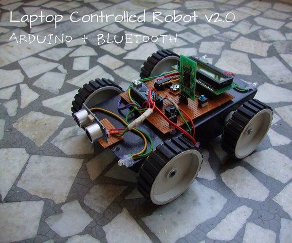Laptop Controlled Robot V2.0