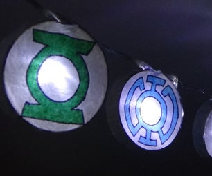 Lantern Corps Holiday Lights