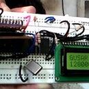 TV remote controlled High Quality (1600kbps) MMC stereo wav player using Atmega32